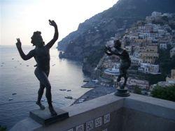 Positano statues