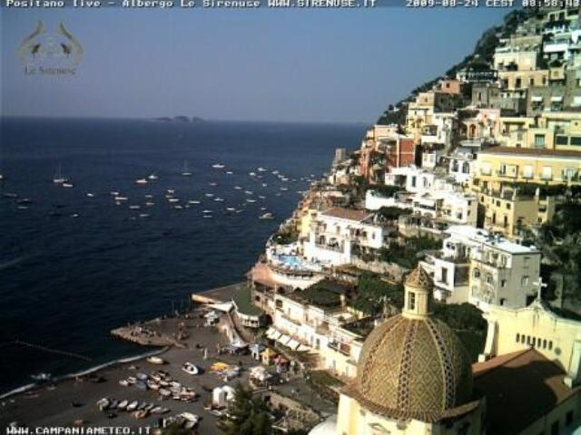 Webcam For The Port Of Amalfi