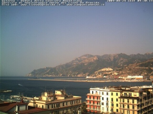 Salerno webcam