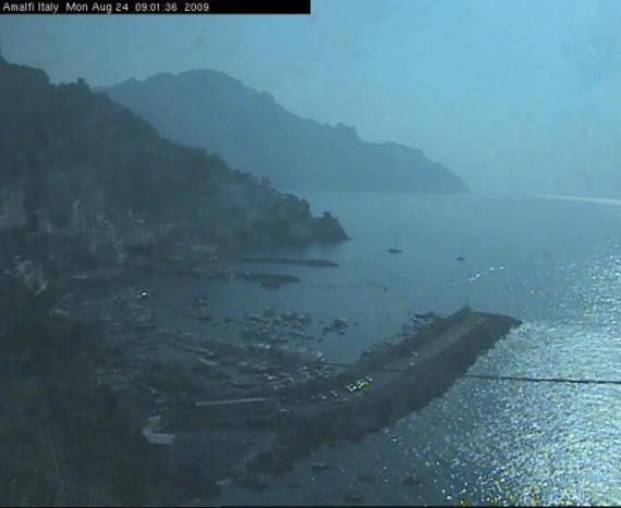 Amalfi Duomo webcam